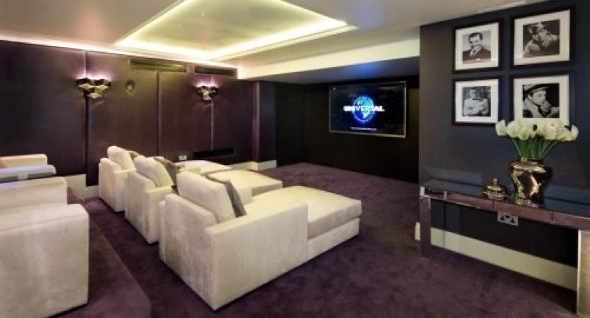Media Room Home Cinema A/V
