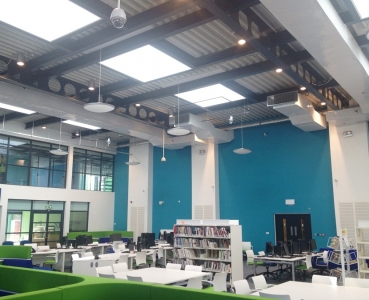 M&E Installation – Barking & Dagenham College Data Resource Centre