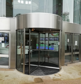AES Maintain – New Door at Sony