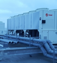The Old Vinyl Factory – Installation of Chiller Units