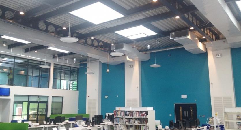 College Data centre M&E installation