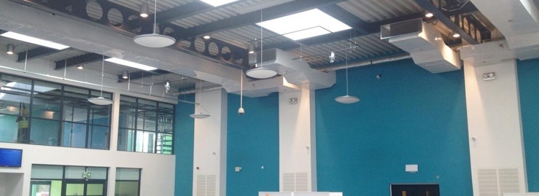 M&E Installation – Barking & Dagenham College Data Resource Centre