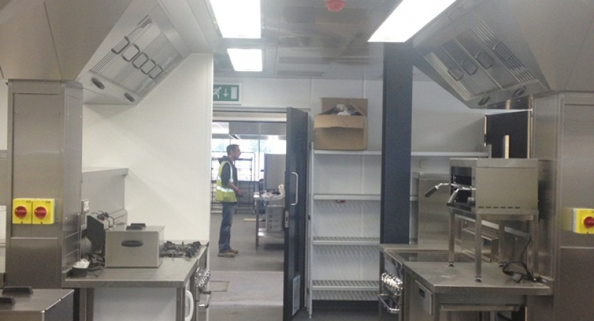 College Kitchen Fit Out